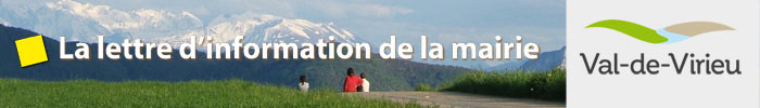 Lettre d'information de la mairie de Val-de-Virieu